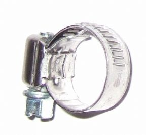 Jubilee type clip for fuel hose 7 -11 mm